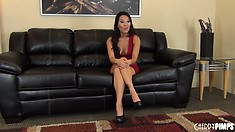 An interview with sexy Asian MILF Asa Akira could turn naughty