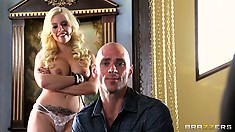 Britney Amber's sexual desires were only fulfilled when he came in her mouth
