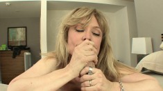 Nina Hartley is a MILF who knows how to pleasure a hung stud