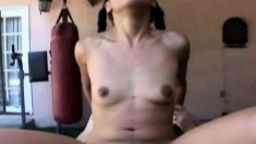 Lusty babe Kali gets her hot pussy worked in various positions