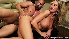 His hard horniness is hungry for the sweet honey pot of Brandi Love