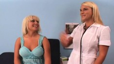 Ravishing Blonde Has Her Horny Doctor Taking Care Of Her Sexual Urges