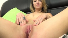 Brunette Madison Callaway Uses Her Vibrator While He Porks Her