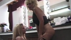 Voluptuous Blondes Bridgett Kerkove And Czarrina Expose Their Bodies