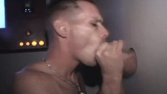Kinky Boy Dom Satisfies His Lust For Cock And Semen At The Gloryhole