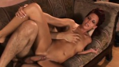 Sexy Mrs. Haze gets deeply penetrated and moans with intense pleasure