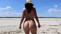 Small Tit Amateur Pussy Got Hard Fuck At Beach Side