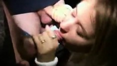 Public Threesome Amateur Teen Blonde