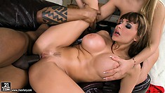 Long and tasty beaver-cleaver gets inside the asses of hot babes