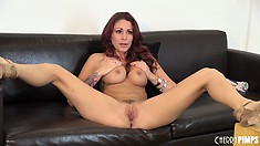 Watch Monique Alexander bend over like a naughty little bitch