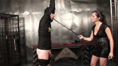 Kinky stud exploring his bondage fetish fantasies for the first time
