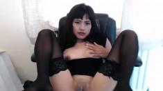 Webcam masturbation super hot japanese cute married woman
