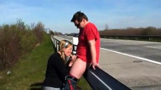 Blonde Hungarian Amateur Public Blowjob And Fuck