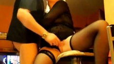 Mature Couple Foreplay