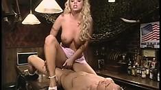 Top notch blonde hooker Brittney Skye is bounced by Ben English