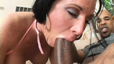 Kendra Secrets is a busty brunette milf with a passion for black cock