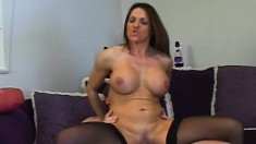 Magnificent milf loves to get her pussy eaten out and deeply drilled